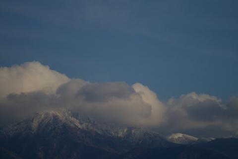 雪化粧の八ヶ岳