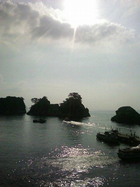 堂ヶ島の眺め
